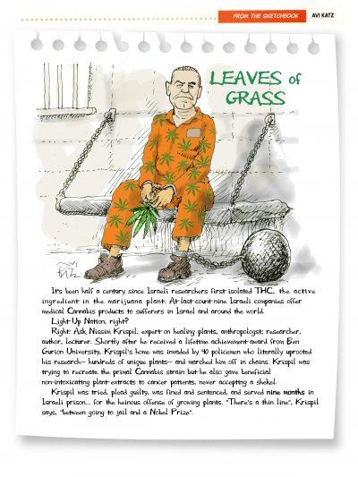 Krispil behind bars